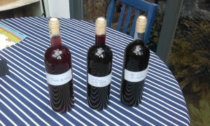 three versions of 'our' wine