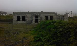 half built house