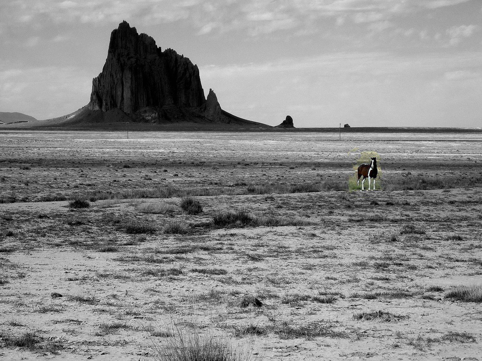 My photo of Shiprock, New Mexico