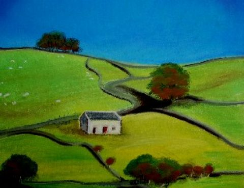 Mrs Summerhouse's art : the barn in summer
