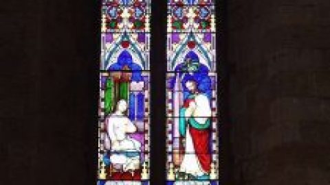 Stained glass and retirement