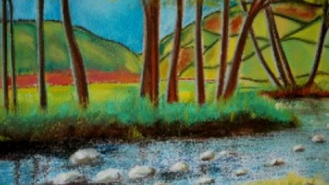 Mrs Summerhouse's art : Nidderdale retirement blog