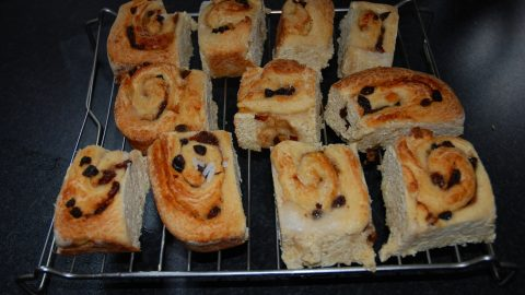 Retirement and are cinnamon buns the missing link?