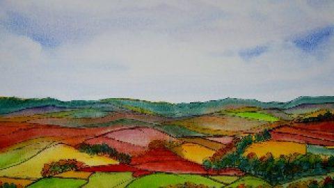 Mrs Summerhouse's art : Nidderdale in autumn