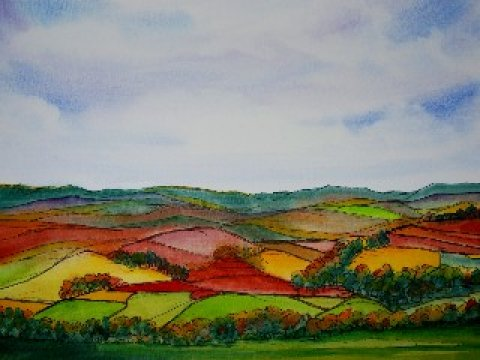 Mrs Summerhouse's art : Nidderdale in autumn