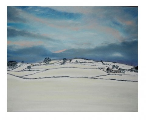 Mrs Summerhouse's art : Winter in the dale