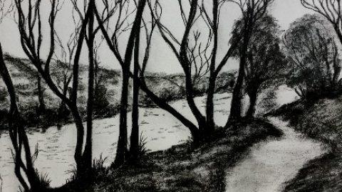 Mrs Summerhouse's Art : Nidderdale in February