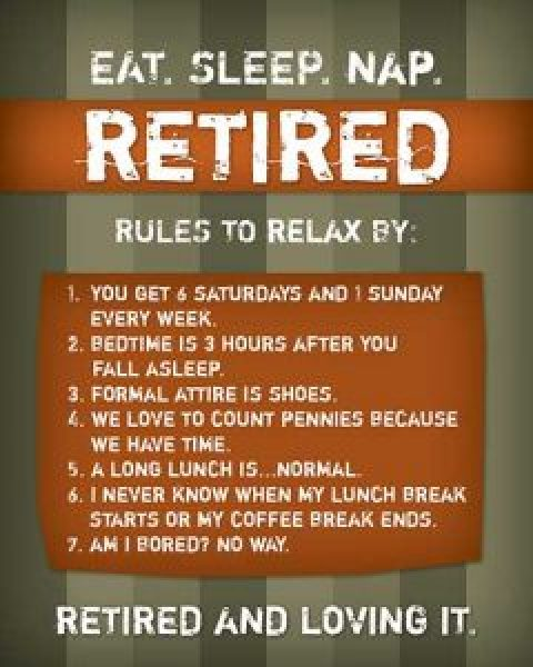 Relaxing Retirement?