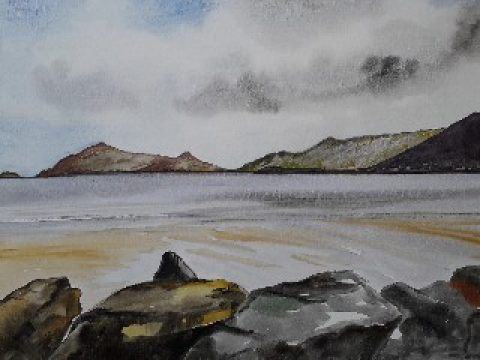 Mrs Summerhouse's art and (one of) our favourite Irish beaches