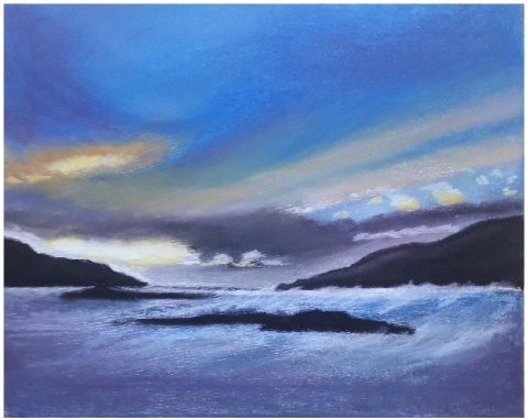 Mrs Summerhouse's art : view from Scourie
